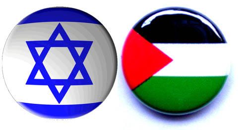 Botones israel palestina